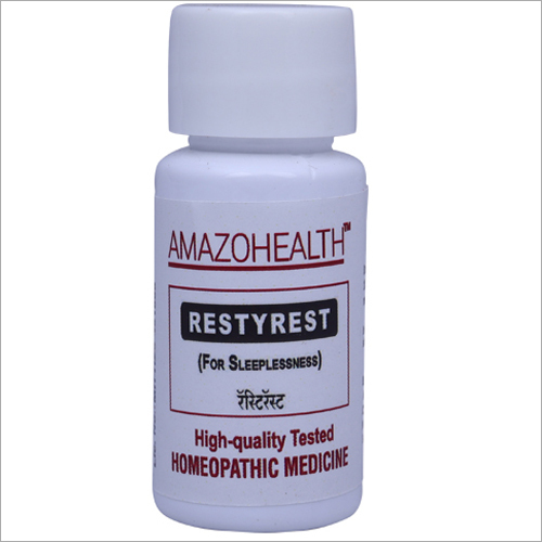 Restyrest Homeopathic Medicine For Sleeplessness