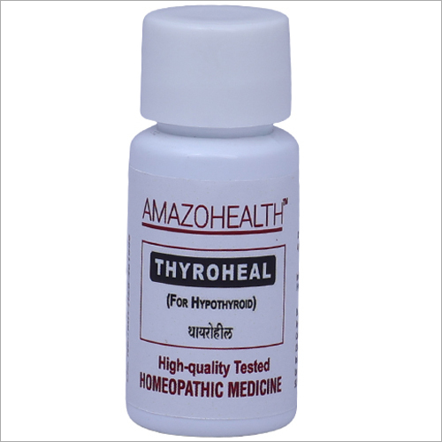 Thyroheal Homeopathic Medicine For Hypothyroidism