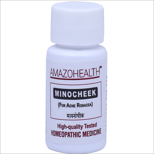 Minocheek Homeopathic Medicine For Acne Rosacea