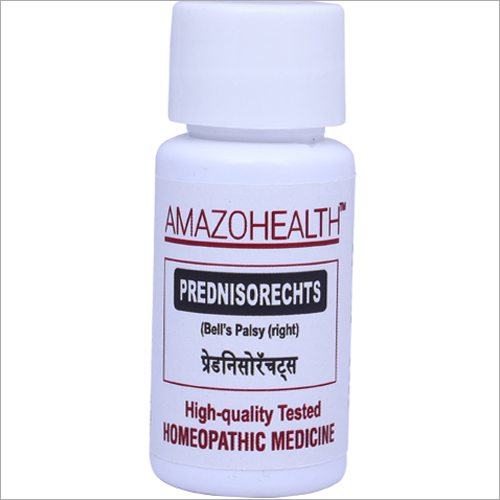 Prednisorechts Homeopathic Medicine For Bells Palsy (right)