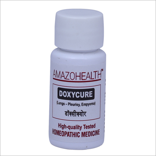 Doxycure Homeopathic Medicine For Lungs Pleurisy Pneumonia