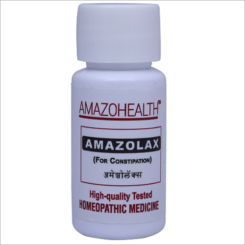 AmazoLax Homeopathic Medicine For Constipation