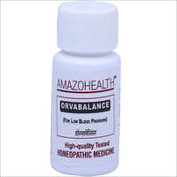 Orvabalance Homeopathic Medicine For Low Blood Pressure