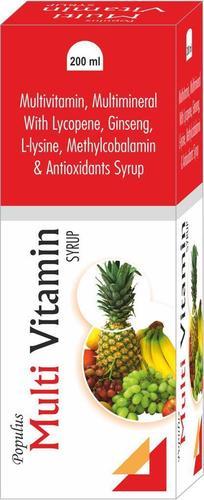Multi Vitamin Syrup