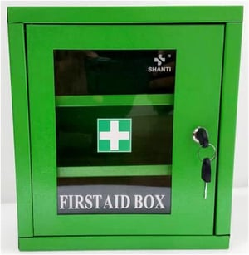 Fist Aid Box Metal Powder Coated
