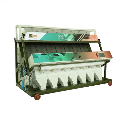 Trendz-7 Chute Tri-Chromatic Color Sorter Machine