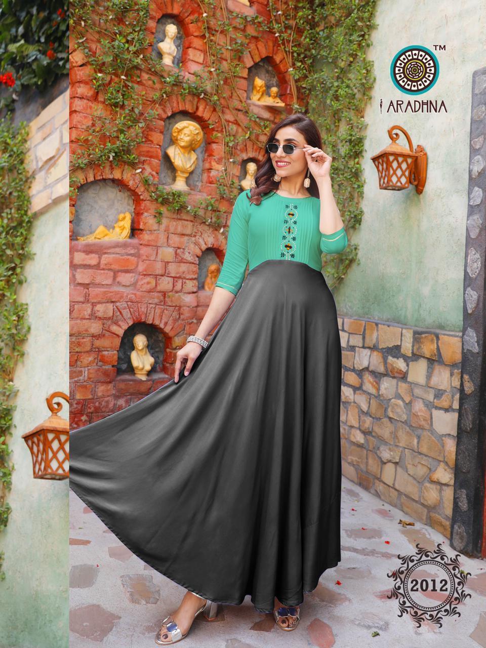 Rayon Kurti Gown