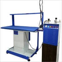 Vacuum Table and Boiler