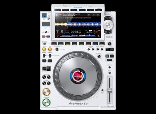 White Pioneer Cdj-3000-W Dj Player