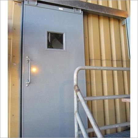 Manual Fire Sliding Doors