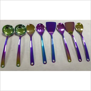 SS Cutlery PVD Rainbow Coating Services