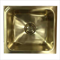 SS Wash Basin PVD Gold Coating Services