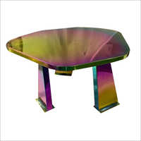 SS Furniture PVD Rainbow Coating Services