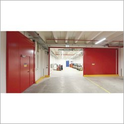 Automatic Fire Sliding Doors