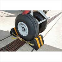 Aircraft wheel chocks