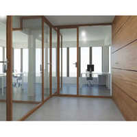 Panelling and Glass Partition