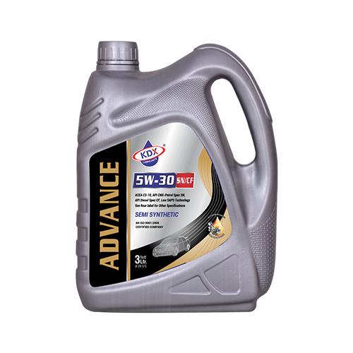 3 Ltr Advance 5W30 Car Engine Oil