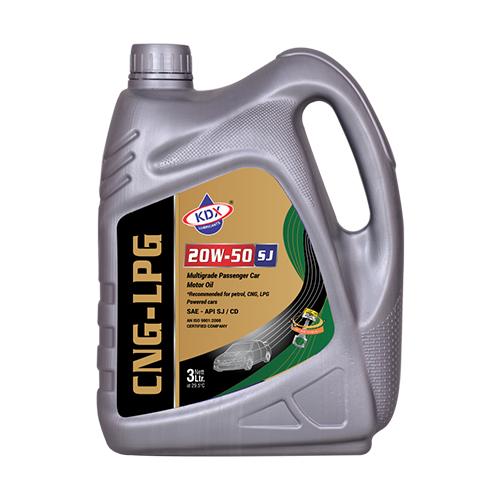 3 Ltr CNG-LPG 20W50 Car Engine Oil