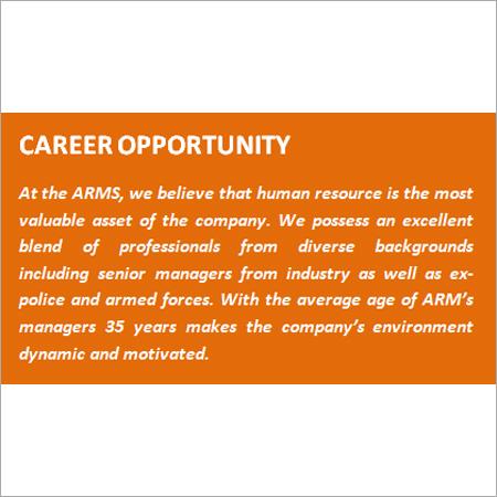 Career Opportunity