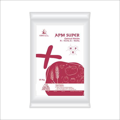Apm Super Npk Calcium Nitrate  N: 15.5% C:18.8%