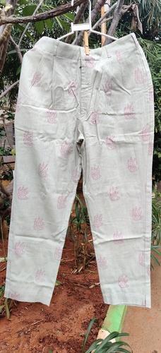 Grey Printed Pant