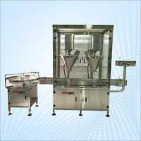 Automatic Double Head Powder Filling Machine