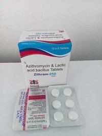 Azithromycin 250 Mg + Lactic Bacillus