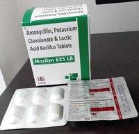 Amoxycillin 500 Mg + Clavulanic Acid 125 Mg + Lactic Bacillus