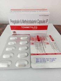 Methylcobalamine 750mcg + Pregabalin 75mg