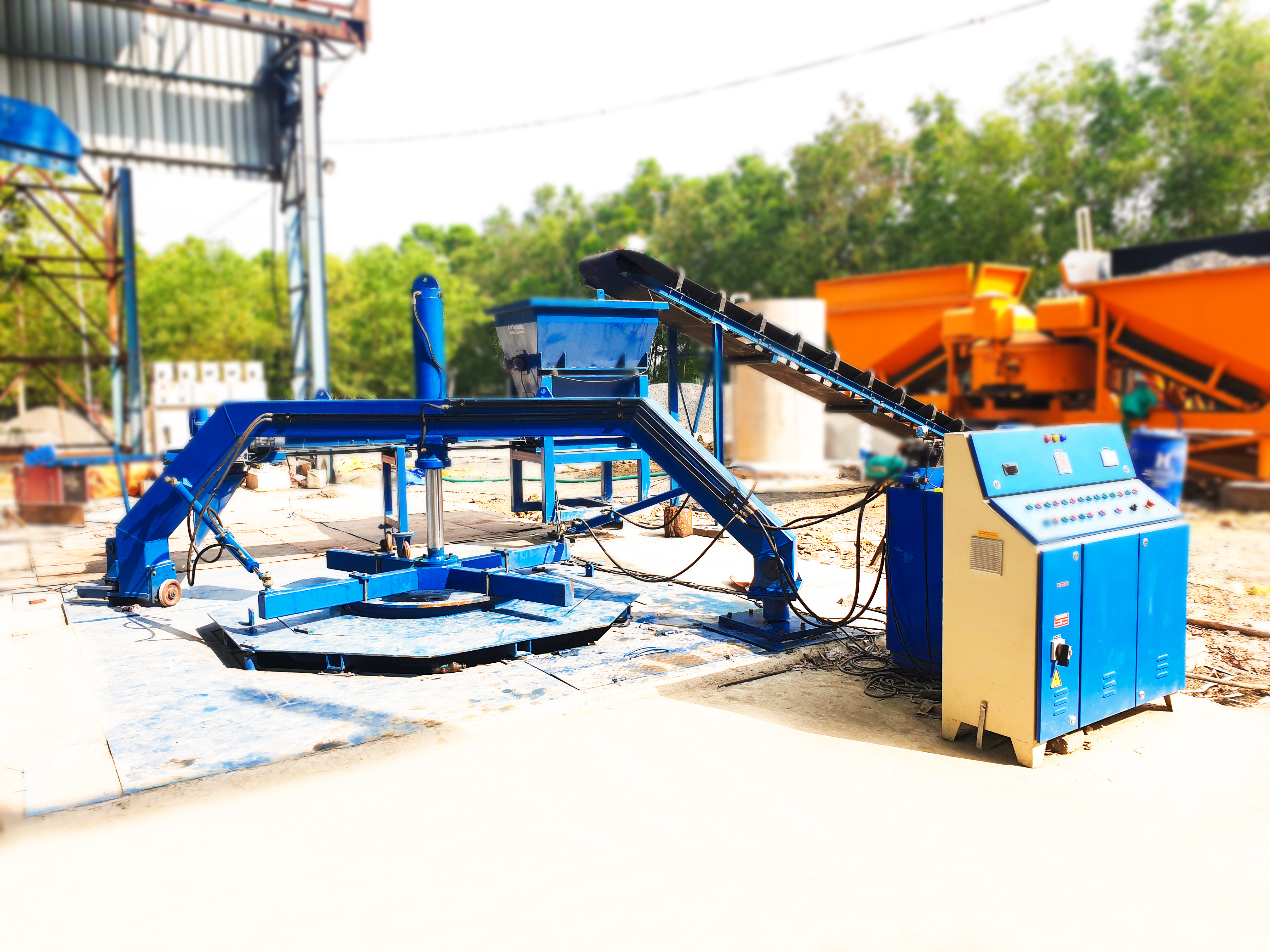 Concrete Pipe Making Machine (RCC Pipe Making Machine)