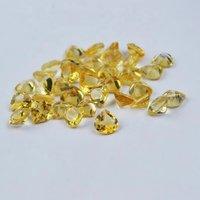 3mm Citrine Faceted Heart Loose Gemstones