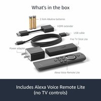 All-new Fire TV Stick Lite with Alexa Voice Remote Lite | Stream HD Quality Video | No power and volume buttons |