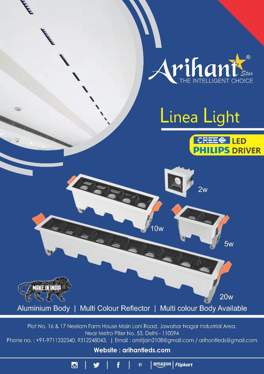 LED Linear Spotlight 1LED 2W