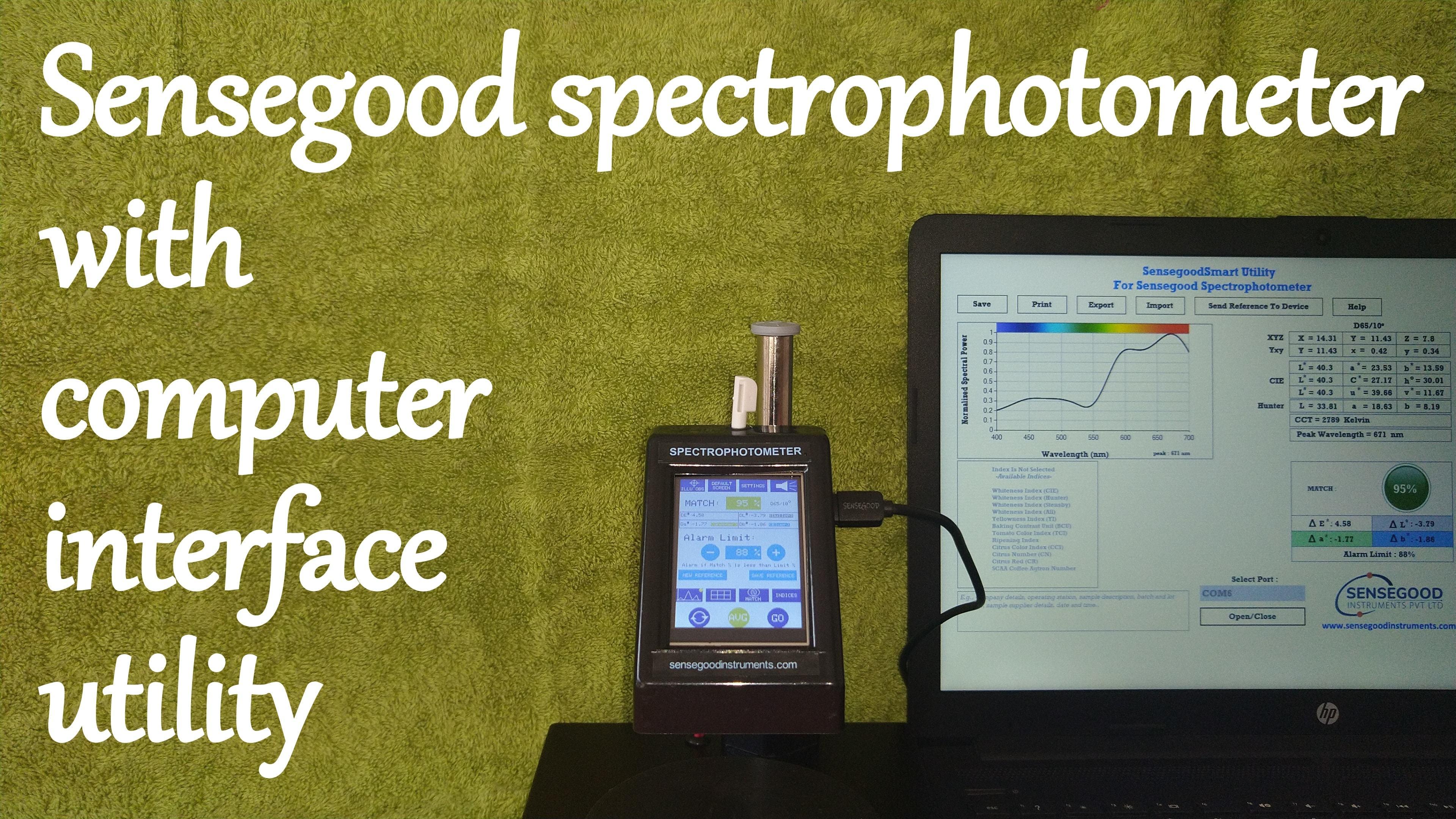 Hot Sale Color Spectrophotometer