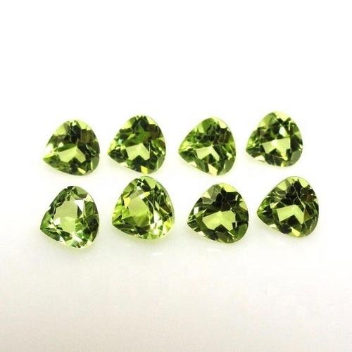 3mm Peridot Faceted Heart Loose Gemstones