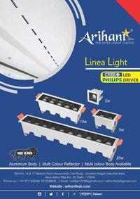 LED Linear Spotlight 10LED 24W