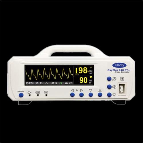 Single Tabletop Pulse Oximeter