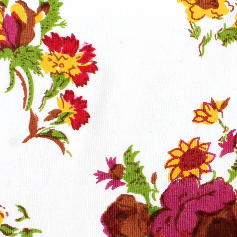 GOTS Certified Organic Cotton Poplin Printed Fabrics