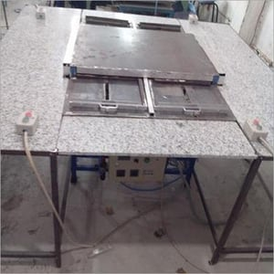 Double Door Pneumatic Controlled Baking Oven For Rubber Label