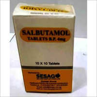 Salbutamol Tab BP 4 Mg