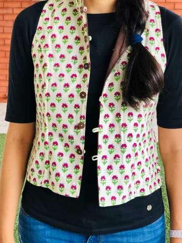 Floral Motif Jacket