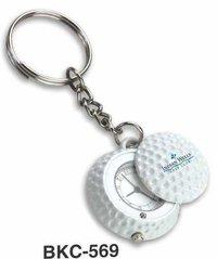 Golf Ball Keychain with Watch