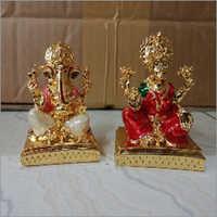 Pearl Finish Ganesh Laxmi