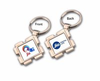 Personalized Sublimation Keychains