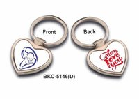 Heart Shape Sublimation Keychain