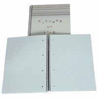 6 Subject College Notebook - A4 Size - Wire-O-Bound
