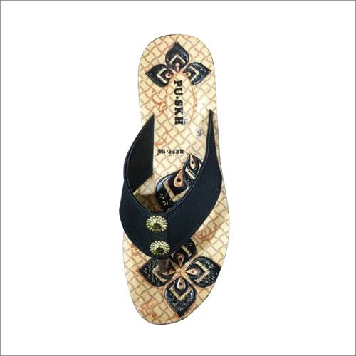 Ladies Fancy PU Slipper