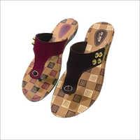 Ladies PU Sole Slipper