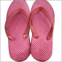Ladies Plain Rubber Slipper
