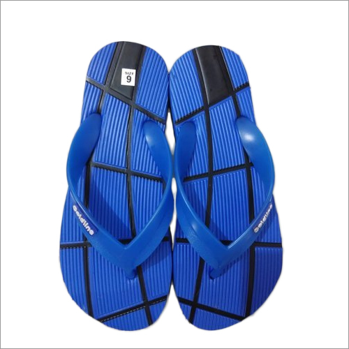 Mens Blue EVA Slipper